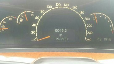 легендарный мерседес -бенц w220  s500   пробег   192 777  оригинал    в Бишкек - фото 5
