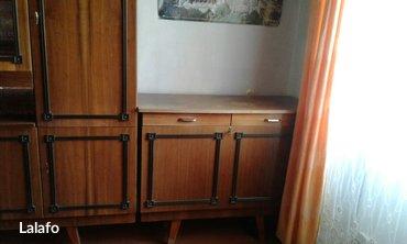 Стенка румынская в отличном состоянии + тумба с ящиком для белья. 5500 в Бишкек