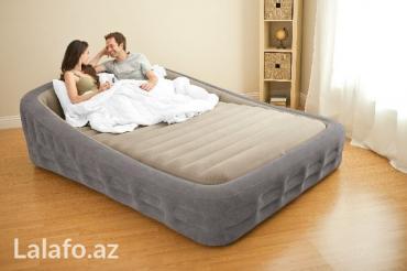 Bakı şəhərində Надувная кровать Intex 67972, 193х241х76см с