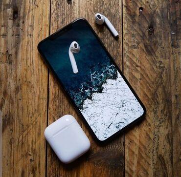 Купить бэушный телефон недорого - Кыргызстан: Наушники блютуз Airpods i500 НаушникиНаушники блютузAirpodsAirdotsHand