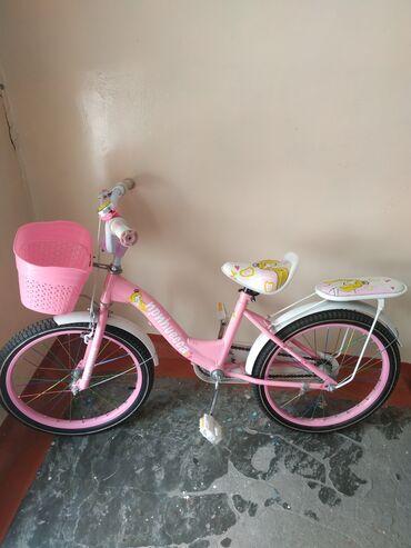 велосипеды для малышей в Кыргызстан: Продаю детский велосипед. Почти новый, катались пару раз. Есть