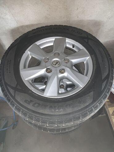 диски японские в Кыргызстан: Продаю шины с дисками(японские), почти новые(катались 3нед). Подойдут
