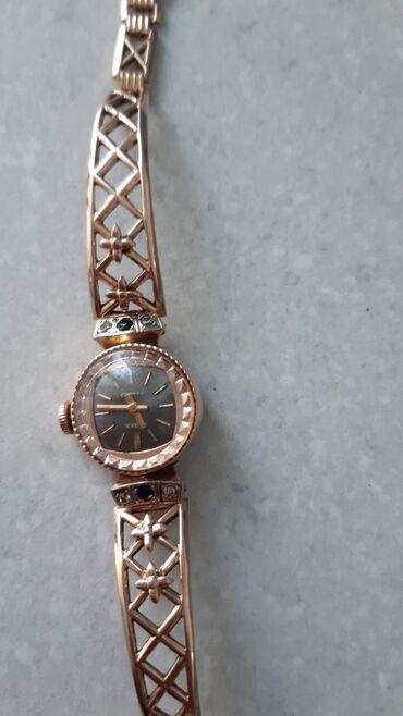 диски бмв 21 стиль купить в Кыргызстан: Срочно! Часы золотые 583° С бриллиантом, вес 21,16гр