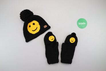 Другие детские вещи - Б/у - Киев: Дитячий зимовий комплект шапка та рукавички Orto System    Шапка Напів