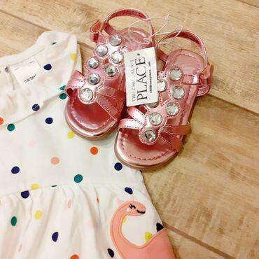 Sako sa - Srbija: Preslatke Children's Place sandale sa cirkonima za devojcice. Sandale