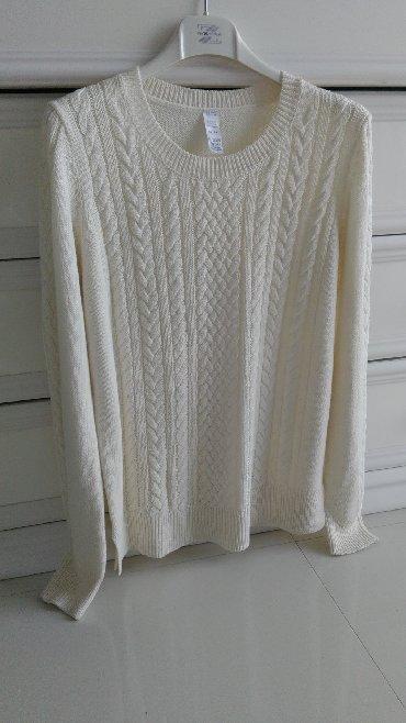 Deciji kupaci lindex - Srbija: Novi LINDEX beli džemper -M