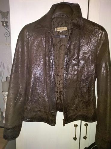 Kozna jakna Vera Pelle vel 38, braon boje sa diskretnim sjajem, - Novi Sad