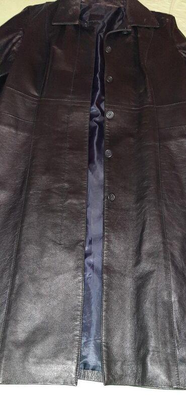 Ženska odeća | Leskovac: Na prodaju kozni mantil. jedno obucen. jer vise nemoze dodalo se na