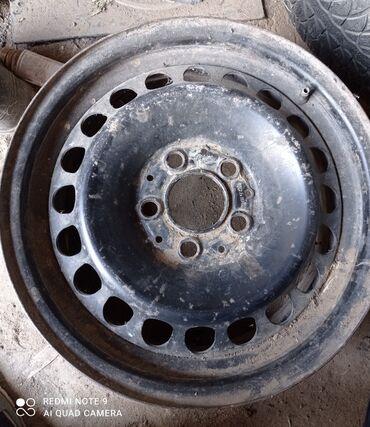 железные диски на 15 в Кыргызстан: Диски железные размер 15 ровные комплект разболтовка 5×112