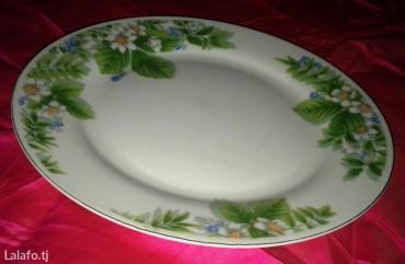 Новая большая тарелка. Ни разу не использовалась. Производство Китай
