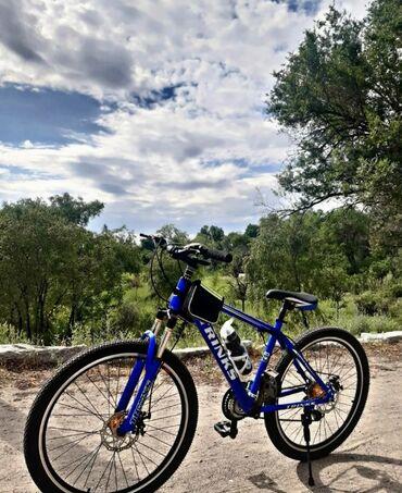 Спорт и хобби - Новопавловка: Велосипед Trinks19рама 26колесаПодростковый велосипедСостояние хорошее
