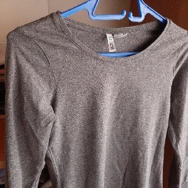 Majica-dug - Srbija: H&M majica na dugačak rukav, kao tunika, veličina S