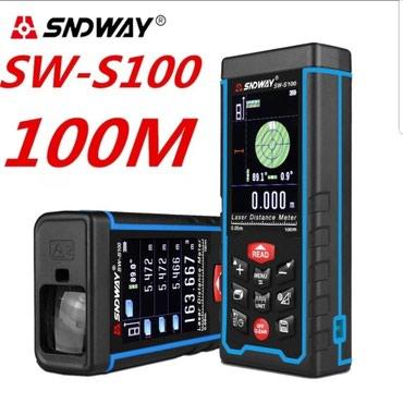 Laserski Daljinomer SNDWAY SW-S 100 do 100m sa USB-om Novo - Krusevac