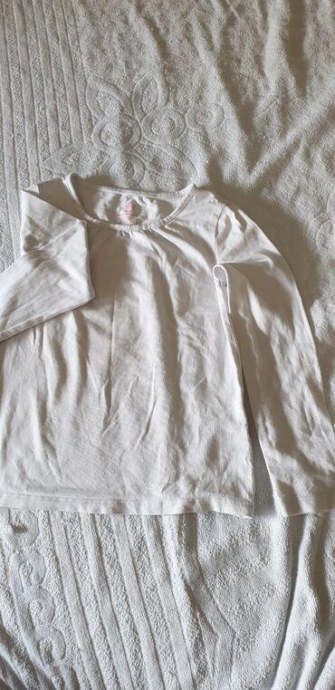 Dečiji Topići I Majice   Arandjelovac: Pamucna majica za devojcice dugih rukava Velicina 4-6 godina (110-116)