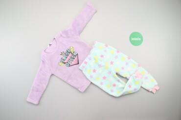Дитяча тепла піжама з принтом Primark, вік 2-3 р., зріст 98 см    Довж