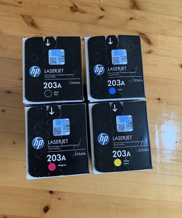kartric - Azərbaycan: HP 203A laser kartric.Bir kompliment 320 azn çox alana endirim olacaq
