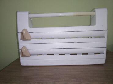 Снегурочка бумага - Кыргызстан: Диспенсер для пищевой пленки, фольги, пекарской бумаги. 2 отделения