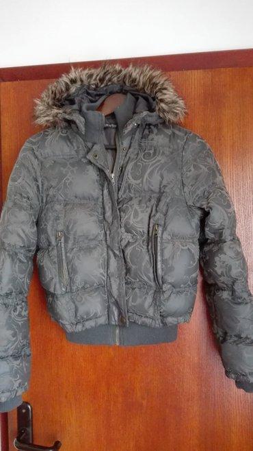Siva jakna miss two kratka,m velicina,nosena i ocuvana. - Novi Sad