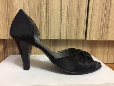 Ženska obuća | Pirot: Elegantne sandale od satena. Jednom obuvene, kao nove
