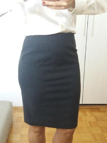 Pencil suknja afroditemodecollection - Srbija: Siva pencil suknja predivnog sastava. Ima i vunu u sebi, pa je odlična