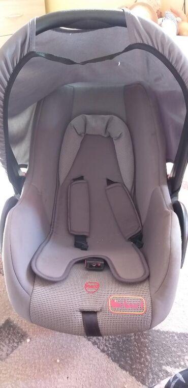 Детская авто люлька от рождения до 1,5 года. Состояние хорошее