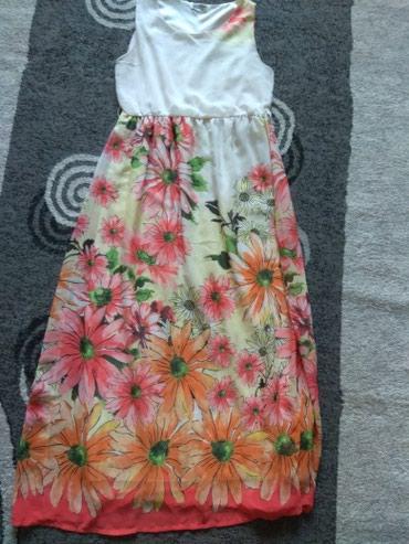 длинное белое платье в Кыргызстан: Платье женское,размер 42.Длинное в пол