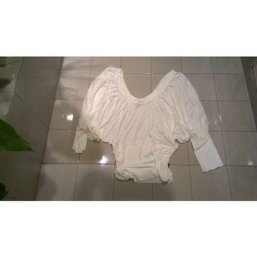 Μπλούζα λευκή Calvin Klein JeansΜέγεθος Μ - 100% ViscoseΜεταχειρισμένη