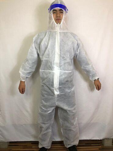 Медицинская одежда - Кыргызстан: Спанбонд костюм. Спанбонд 40 гр, спанбонд 60 гр, спанбонд