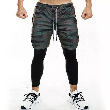 мужская компрессионная одежда в Кыргызстан: Одежда для занятия спортом в тренажёрном зале. Товары в наличии