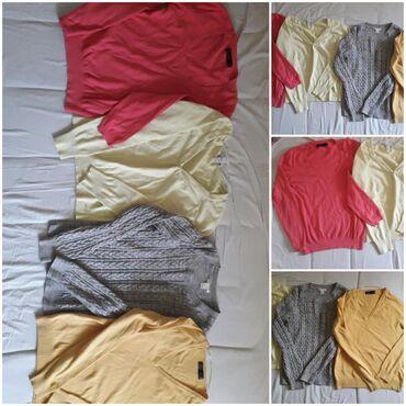 Majica dug - Srbija: Zenske bluze Zara i Basic, dug rukav. Veličina s, m, l