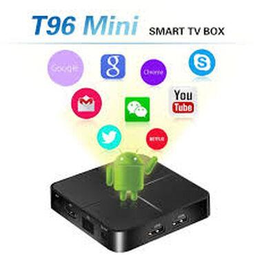 TV Bov T96 mini 2/16GB Smart  T96 Mini: Şəbəkə TV Qutusu üçün ən peşək