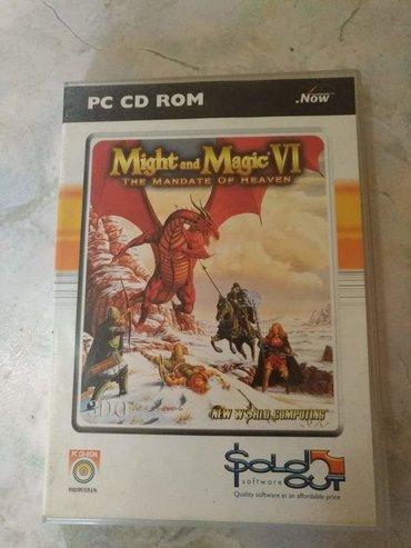 Knjige, časopisi, CD i DVD | Kucevo: Might and Magic VI The Mandate of Heaven Ispravna i original igrica