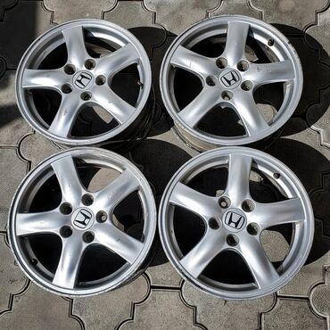 r16 диски в Кыргызстан: Продаю оригинальные диски на Honda Accord CL7/CL8/CL9, не вареные без