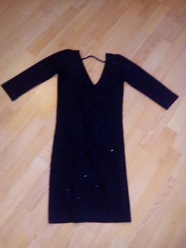 Mala crna haljina S za vecernji izlazak malo svetluca onako - Vranje
