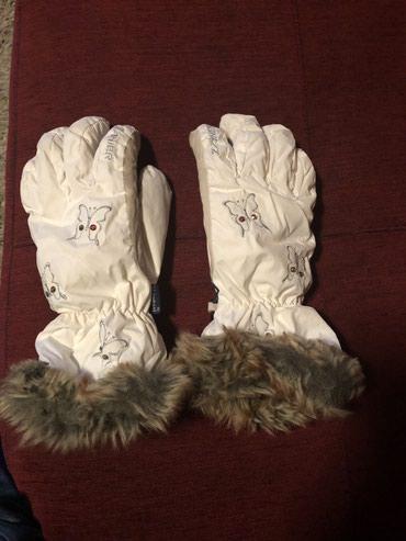 Zenske sky rukavice Zanier, vel M, nosene 4,5 dana na skijanju, jedne - Nis
