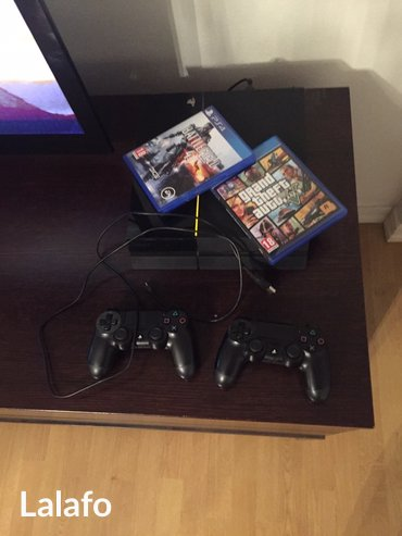 PlayStation 4(PS4), Сдаю, игры Grand Theft Auto 5, BattleField 4, FIFA в Бишкек