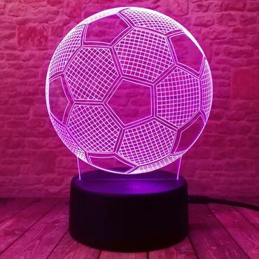 Хит продаж   продаю 3d светильник меняющая цвет в виде мяча    сенсо