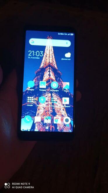Мобильные телефоны - Базар-Коргон: Б/у Xiaomi Redmi 5 16 ГБ Черный