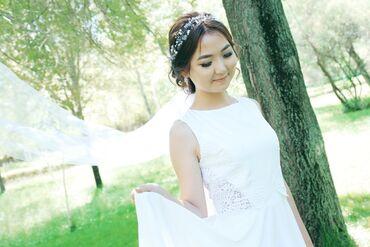 Личные вещи - Кочкор: Продаю свадебное платье, одевала один раз, сшито на заказ. Очень