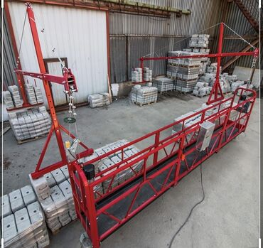 Фасадный подъёмник ( строительная люлька ) (( АРЕНДА ))