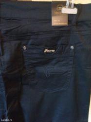 Pantalone m tamno braon imaju dva zakopcavanja napred - Srbija: Nove zenske pantalone miss cherry. Turske. Odlicne zenske pantalone