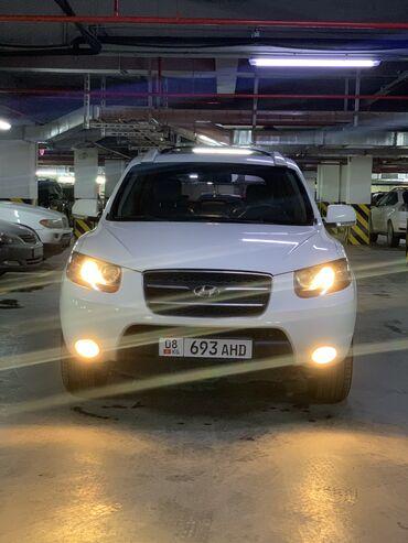 Автомобили - Бишкек: Hyundai Santa Fe 2.2 л. 2008   101000 км