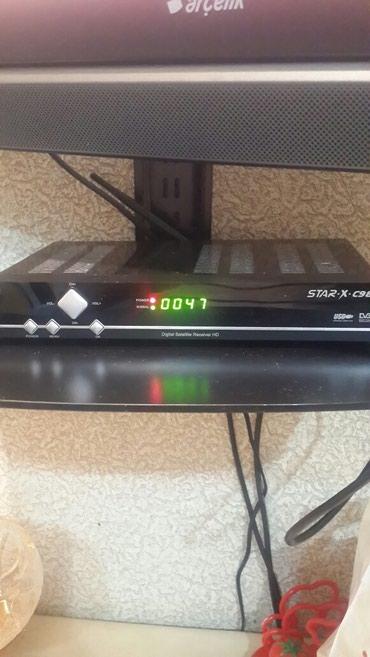TV/video üçün aksesuarlar Ağdaşda: TV Tuner Star x C98 HD, USB çıxışı var. Ntv + və YouTube yazmaq olar