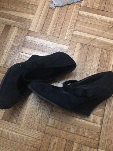 412 oglasa   ŽENSKA OBUĆA: Max&co cipele Prevrnuta koza Broj 39