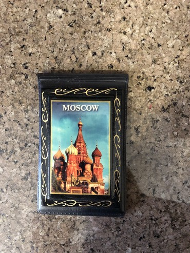 визитница в Кыргызстан: Визитница кожа! С Москвы!!! Длина 13 см ширина 7 см!