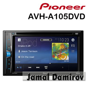 monitor pioneer - Azərbaycan: Pioneer AVH-A105DVD