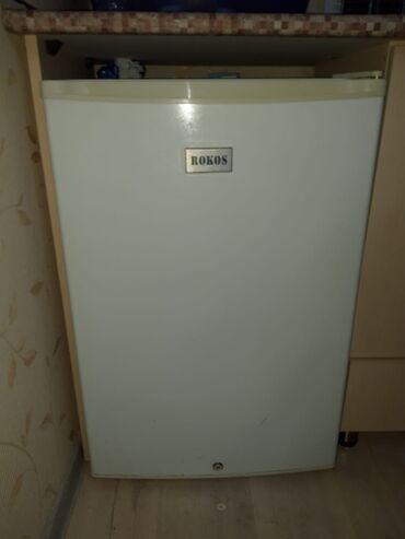 Электроника в Гёйтепе: Б/у Коричневый холодильник Rokos