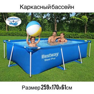 Каркасный бассейн из качественного 3-х слойного брезентового материала