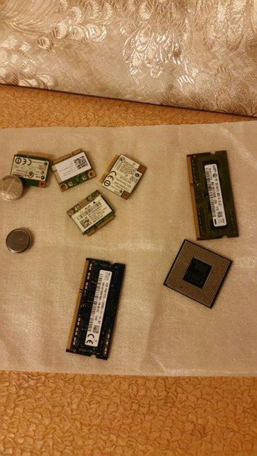 Bakı şəhərində noutbukun ehtiyati ucuz ddr3  ram 2 gb 4 gb .Intel I 5.kuler .dvd .