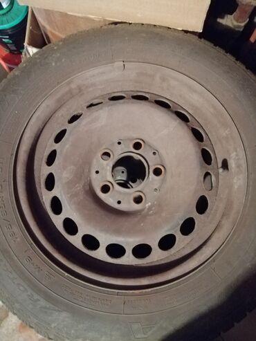 Ratan - Srbija: Celicne felne za mercedes R15, raspon rupa cetiri komada sa ratkapnam
